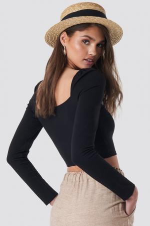 Bluza Puff Shoulder Bodycon1