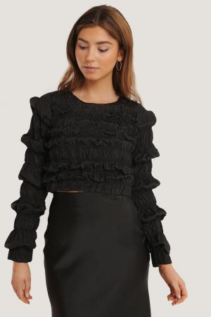 Bluza Shirred Long Sleeve0