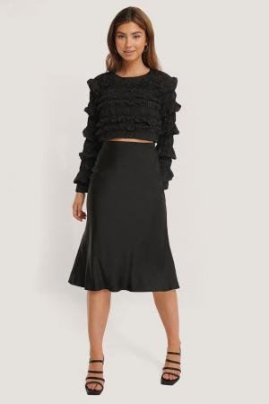 Bluza Shirred Long Sleeve1