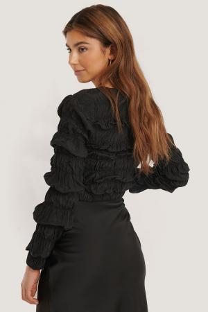 Bluza Shirred Long Sleeve2