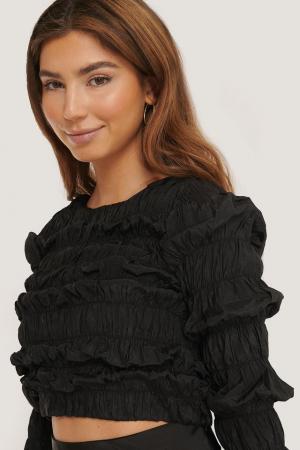 Bluza Shirred Long Sleeve3