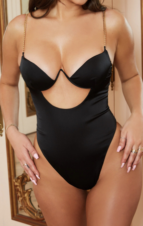Body Chained Up Satin Cut Out [3]