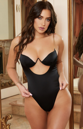 Body Chained Up Satin Cut Out [0]