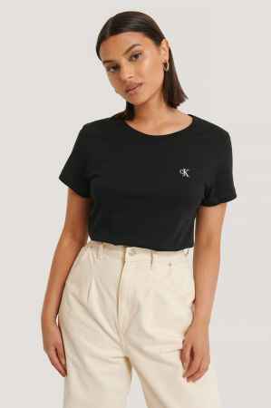 Tricou Embroidery Slim Tee [0]