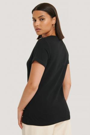 Tricou Embroidery Slim Tee [1]