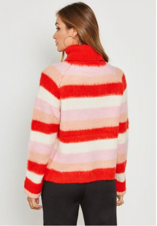 Pulover Stripe Knit Polo1