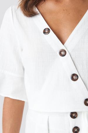 Bluza Flounce Sleeve Buttoned [2]