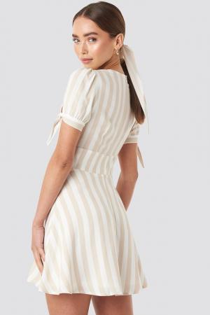 Rochie Button detail mini dress2