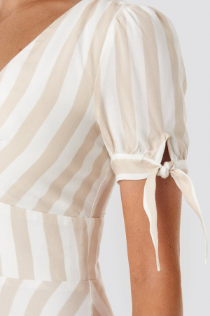 Rochie Button detail mini dress3