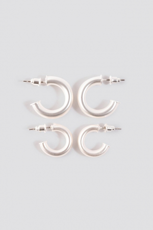Cercei Flat End Mini Hoops0