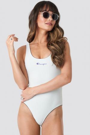 Costum de baie cu 2 fete Chest Logo [4]