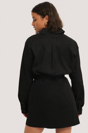 Rochie Tie Front Pocket1