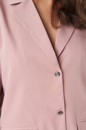 Shiny Button Blazer [3]
