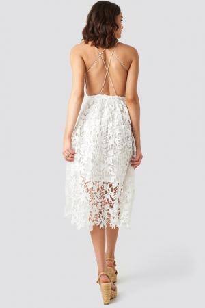 Crochet Strap Back Dress2