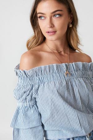 Bluza Off Shoulder Frill [1]
