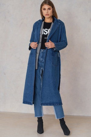 Denim Trenchcoat0