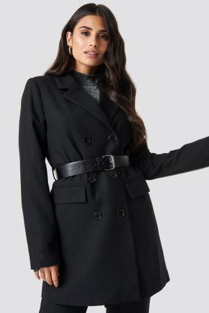 Belted Suit Jacket0