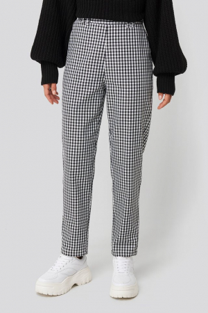 Pantaloni Checked Suit1