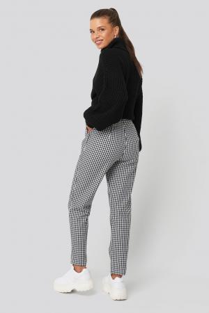 Pantaloni Checked Suit3