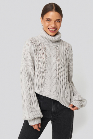 Pulover Chunky Cable Knit [0]