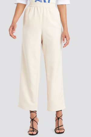Pantaloni Elastic Waistseam Cropped [2]