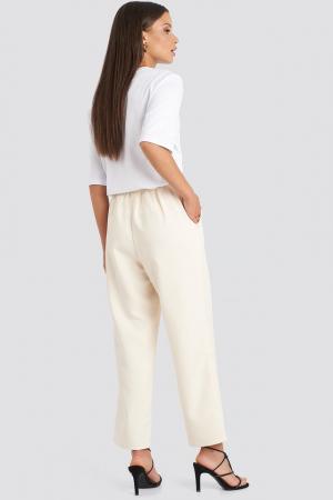 Pantaloni Elastic Waistseam Cropped [4]
