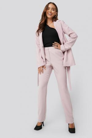 Pantaloni Straight Suiting0