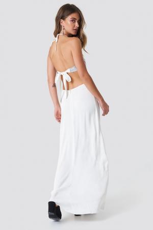 Halterneck Cut Out Maxi Dress [1]
