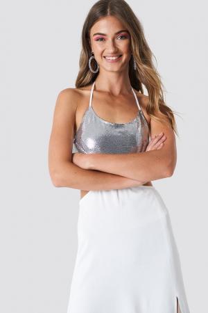 Halterneck Cut Out Maxi Dress [2]