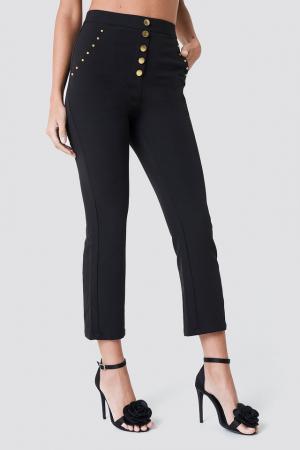 Pantaloni Gold Studded [1]