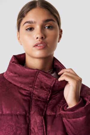 Geaca Shiny Jacquard Puff Jacket [1]