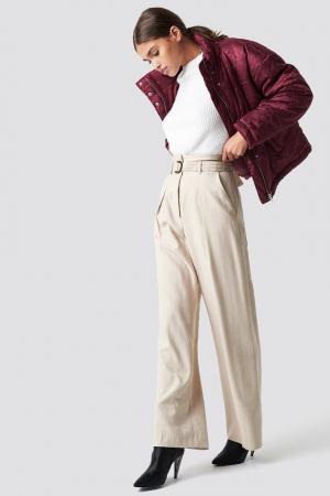Geaca Shiny Jacquard Puff Jacket [2]