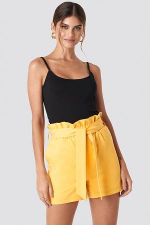 Pantaloni scurti Highwaisted Paperbag Suit0