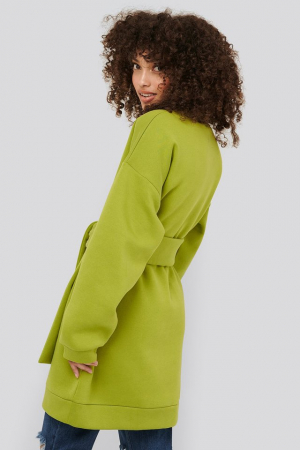 Bluza Oversized Waist Belt Sweater1