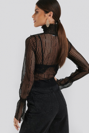 Top High Neck Lace [1]