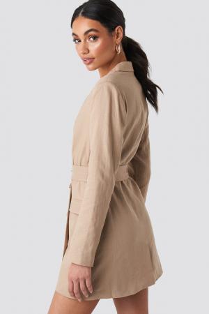 Rochie Linen Blazer1