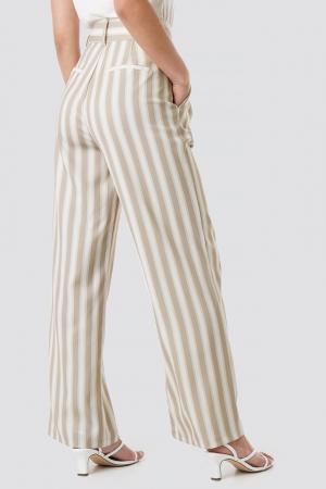 Pantaloni Tailored Striped2