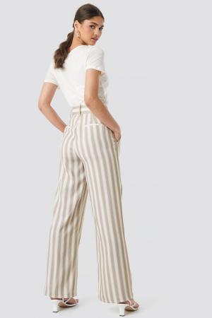 Pantaloni Tailored Striped3