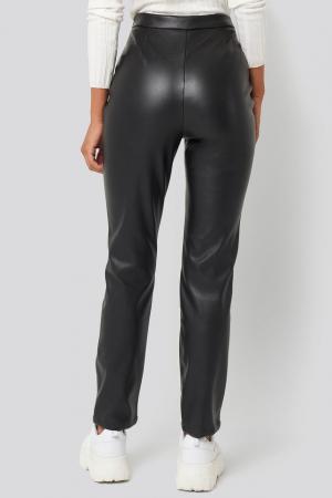 Pantaloni PU Leather Pants [2]