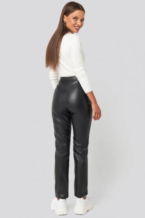Pantaloni PU Leather Pants [3]
