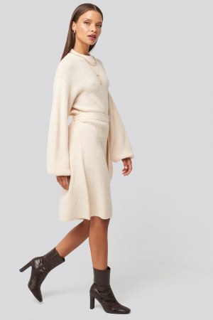 Rochie Tied Waist Knitted0