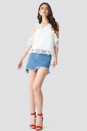 Double Frill Sleeve Top2