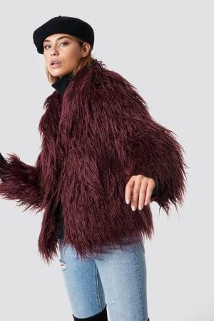 Jacheta Fluffy Faux Fur0