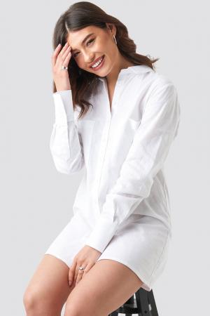 Rochie Oversized Shirt Dress2