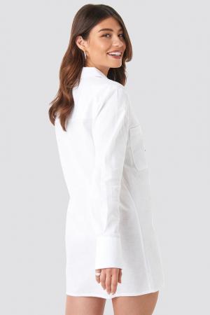 Rochie Oversized Shirt Dress1