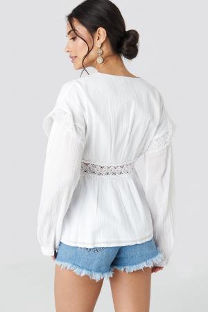 Bluza  Puff Sleeve1