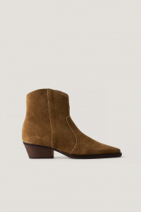 Botine din piele naturala Cruce Ankle Boots [0]
