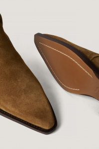Botine din piele naturala Cruce Ankle Boots [2]