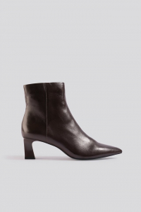 Botine din piele naturala Inky Ankle Boots [0]