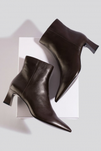 Botine din piele naturala Inky Ankle Boots [2]